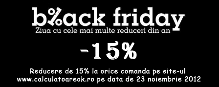 Black Friday la monitoare second hand